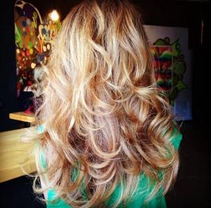 Коса след терапия Olaplex